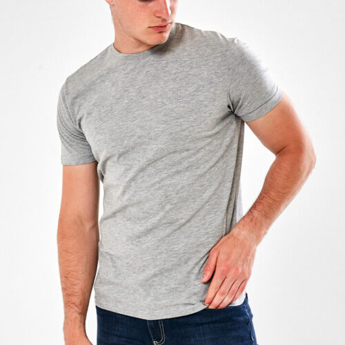 plain grey tee shirt