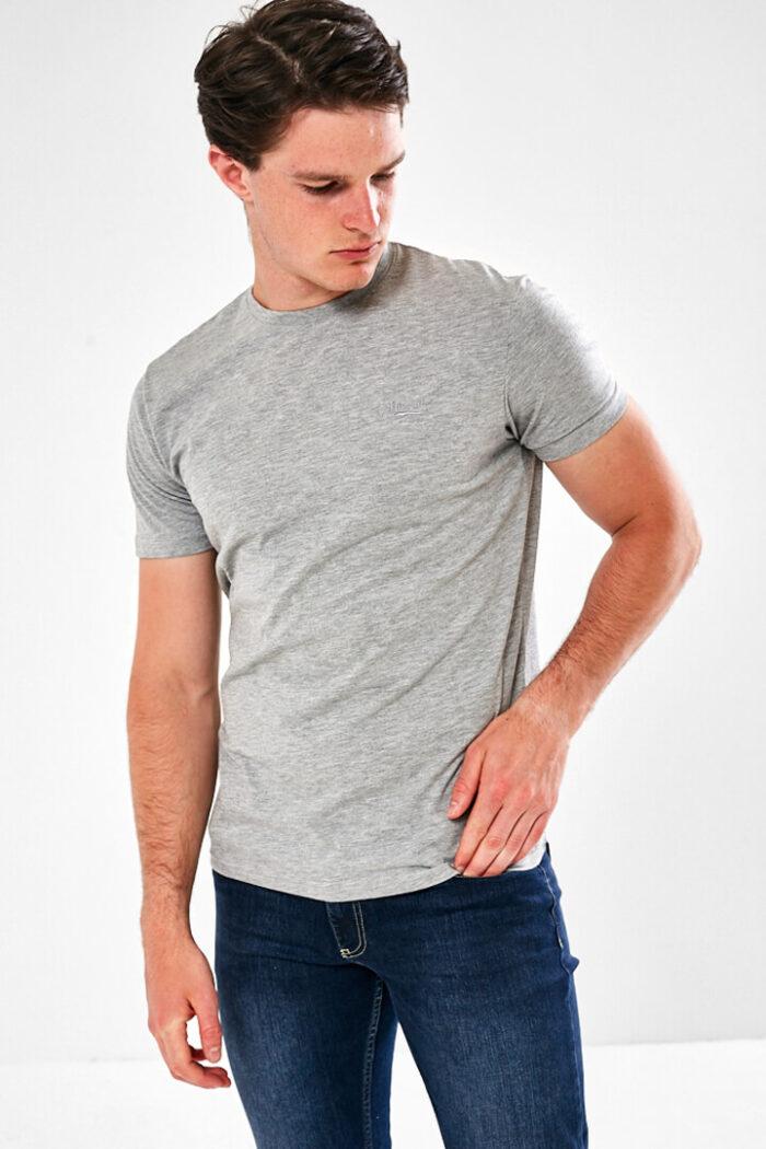 plain grey tee shirt