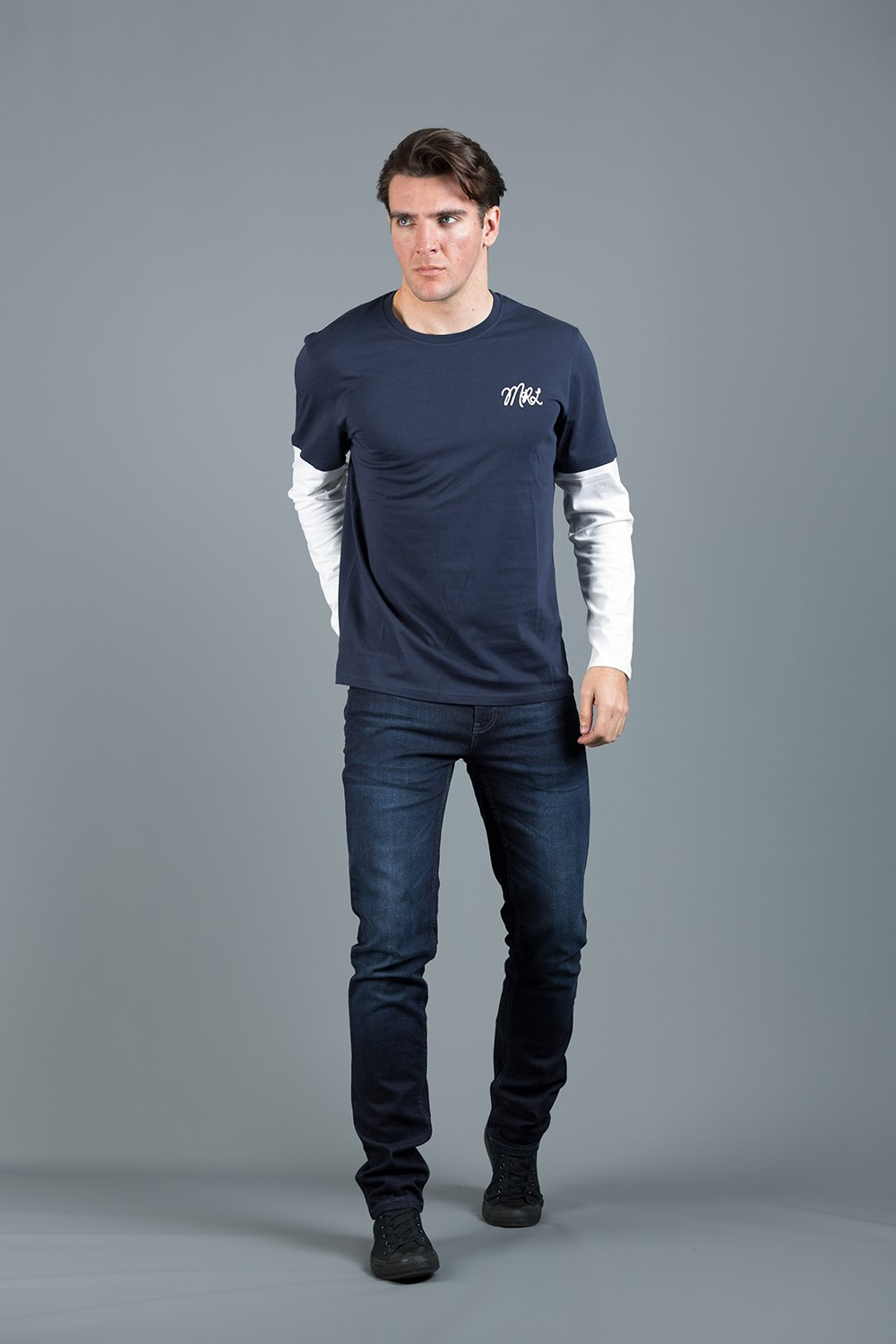 KREK NAVY LS TOP