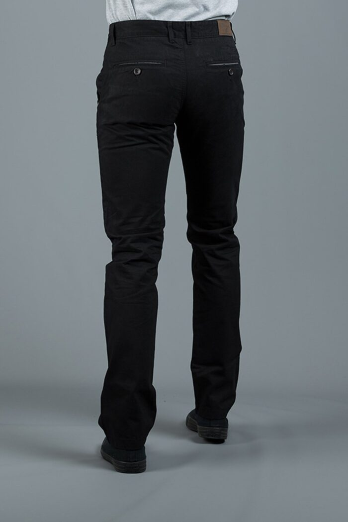 JONNIE BLACK SLIM FIT CHINO
