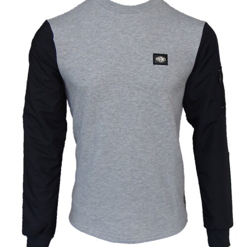 Camberwell Sweat Black/Grey