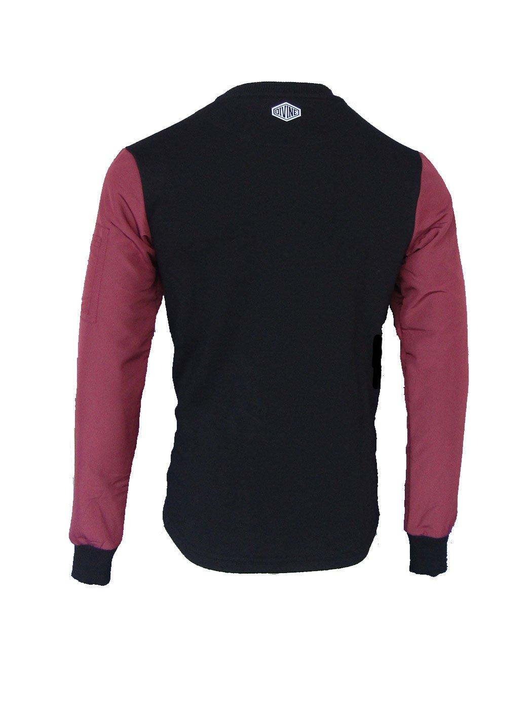 Camberwell Sweat Black/Red