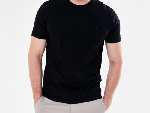 BLACK PLAIN TEE SHIRT
