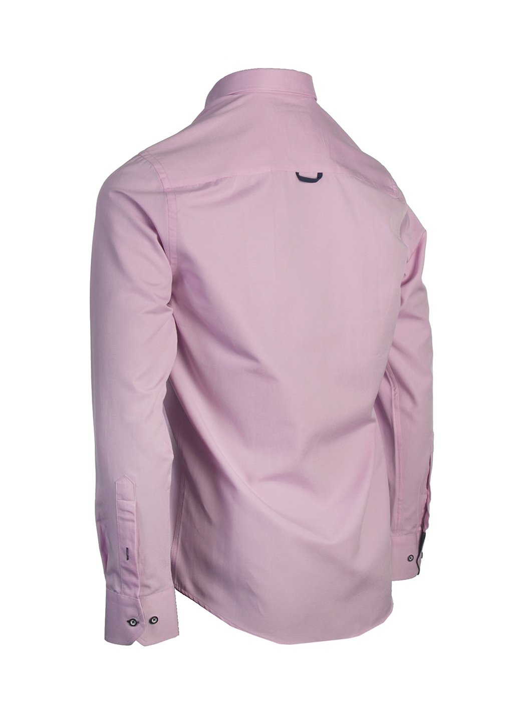 LOLLAND PINK OXFORD LONG SLEEVE  SHIRT