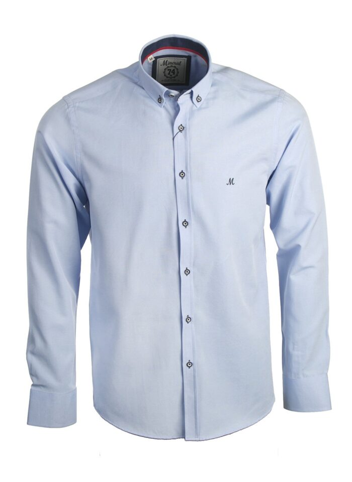 LOLLAND SKY OXFORD LONG SLEEVE SHIRT