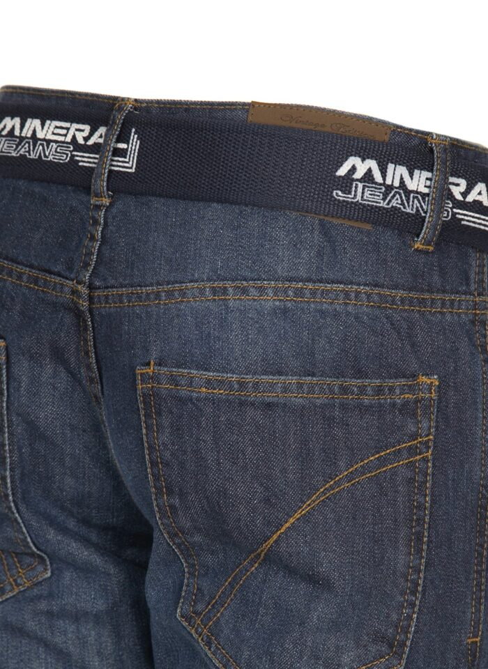 TONER REG FIT JEAN WITH BELT