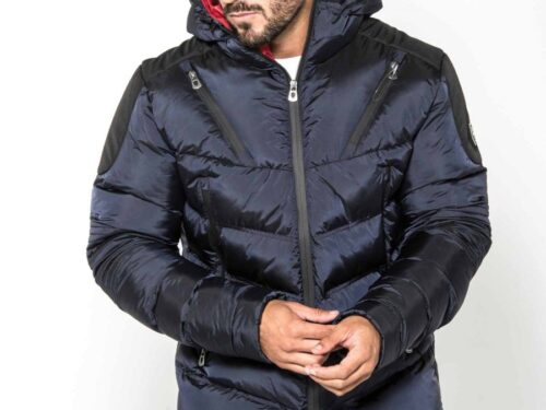 Walter Blue Full Zip Jacket