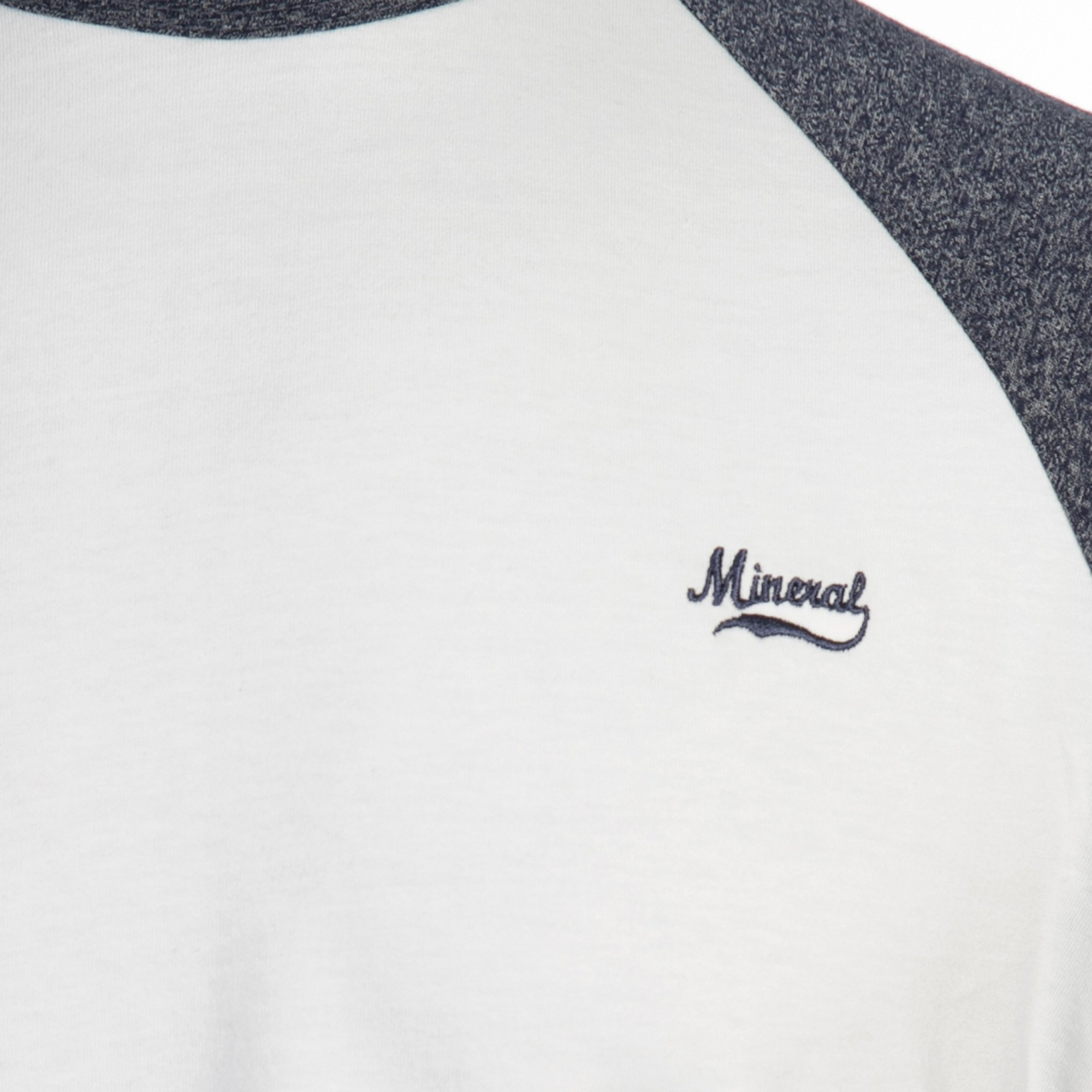GRAMATAL WHITE NAVY LS TOP