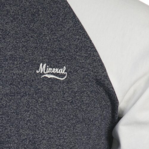 GRAMATAL NAVY / WHITE LS TOP