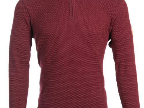BREWSTER BURGUNDY KNIT