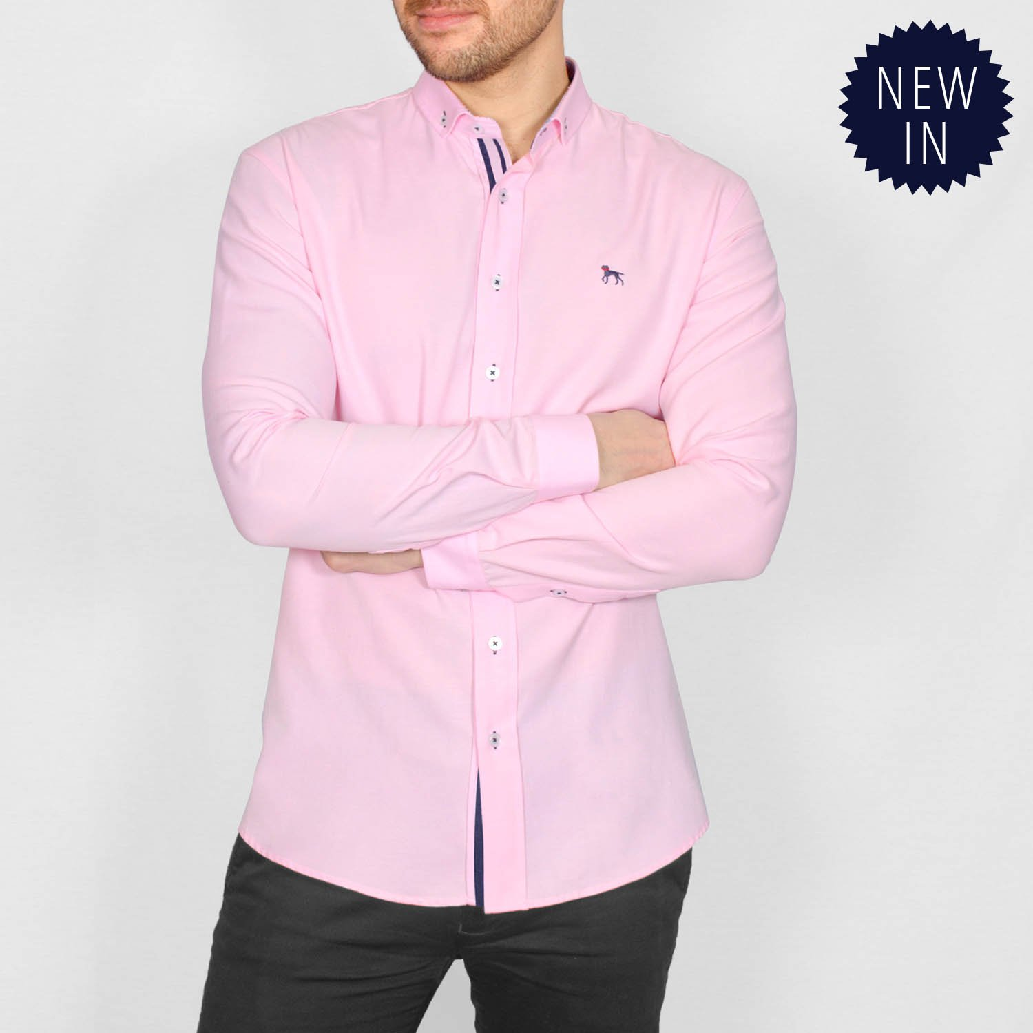 ALAND  LONG SLEEVE OXFORD SHIRT