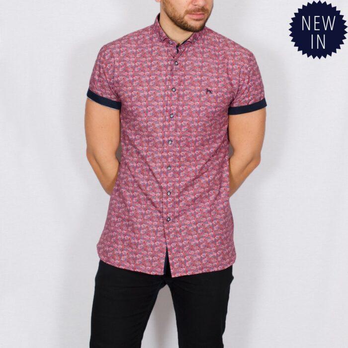 Twizz printed short sleeve shirt