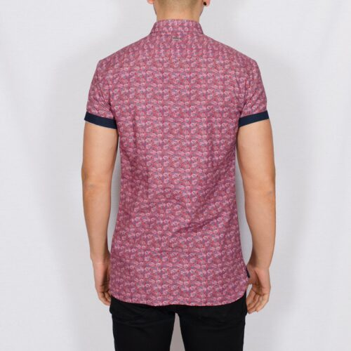 Twizz printed short sleeve shirt