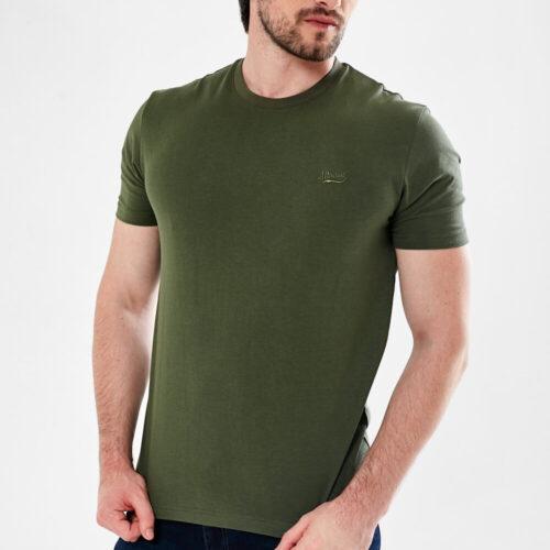 mineral tee shirt khaki