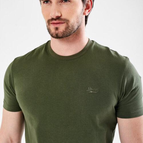mineral khaki tee shirt