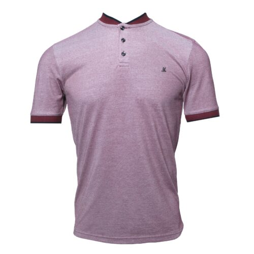 GROSA BURGUNDY SHORT SLEEVE TEE