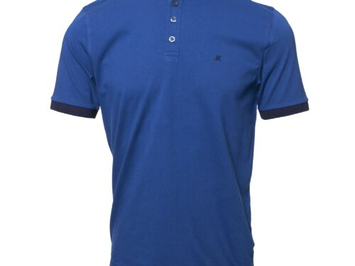 PRINCESS 3 EGYPTIAN BLUE POLO TEE