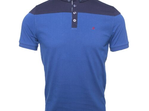 ONZA EGYPTIAN BLUE POLO TEE
