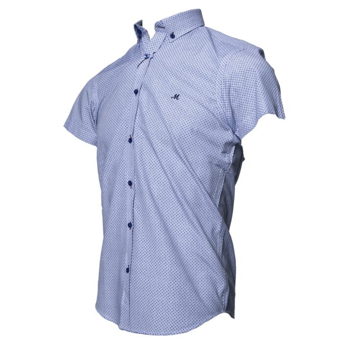 ALOFI BLUE SHORT SLEEVE SHIRT
