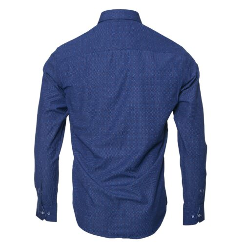HIVA ROYAL BLUE LONG SLEEVE SHIRT