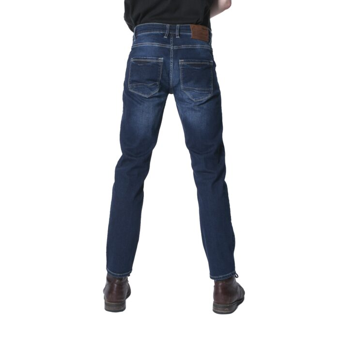 ANDRES STRETCH BLUE WASH SLIM FIT DENIM JEAN