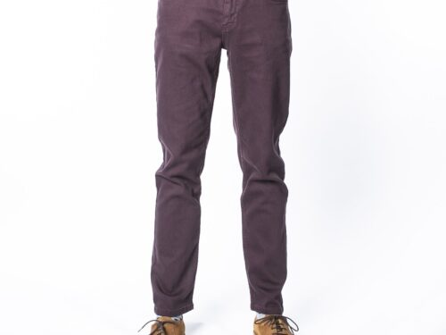 MOURO BURGUNDY REGULAR FIT  TWILL  JEAN