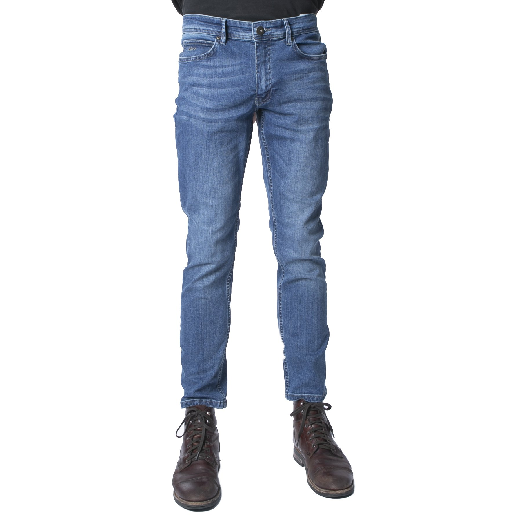 MIAMI BLUE  WASH STRETCH DENIM