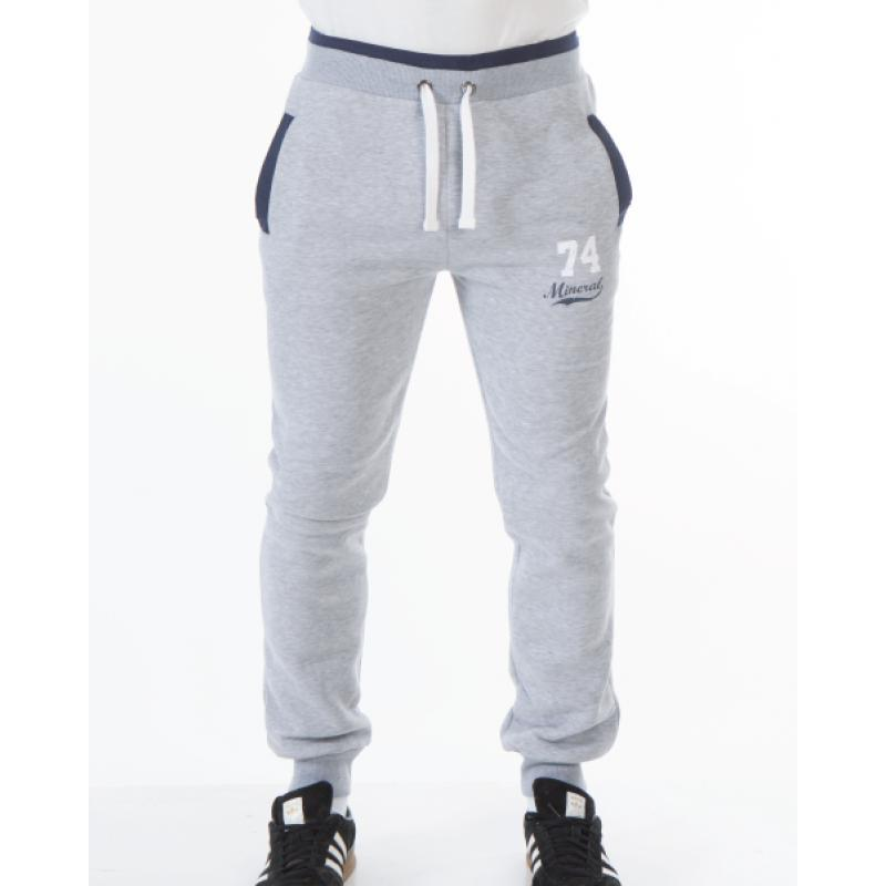 LIPARI GREY CUFF JOG BOTTOM