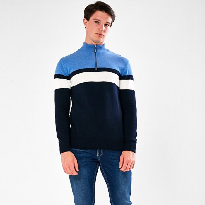 MENS JUMPER WITH ZIP