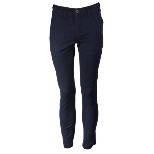 DASH NAVY STRETCH CHINO