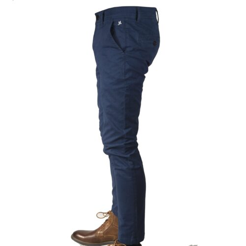DASH PARLOUR BLUE STRETCH CHINO