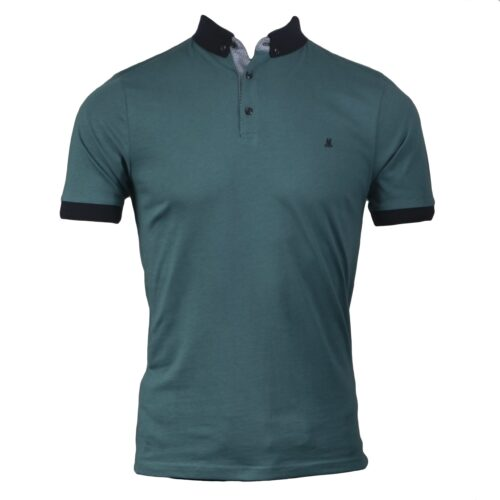PRINCESS 3 TEAL POLO TEE