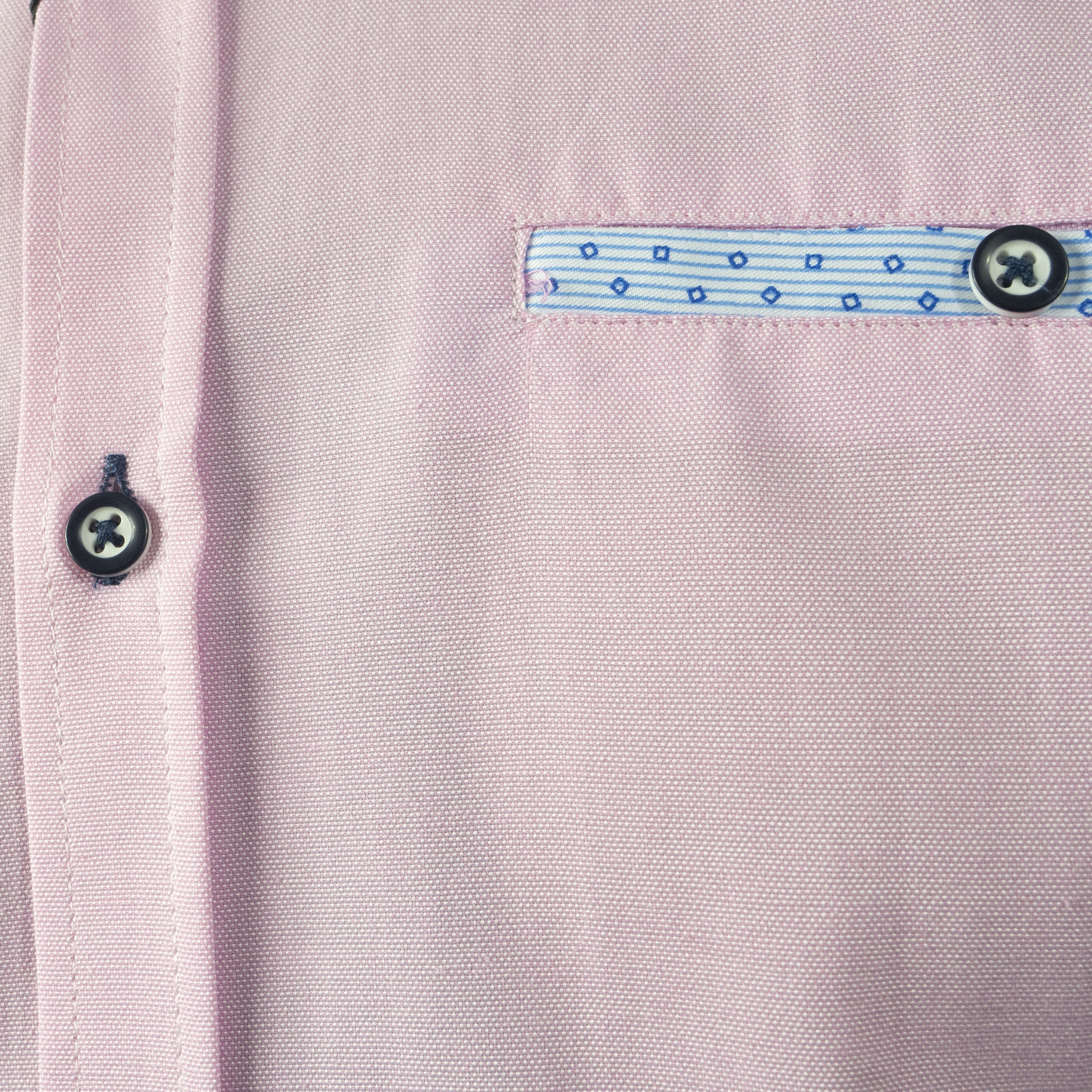 TOLKA PINK SHORTSLEEVE OXFORD SHIRT