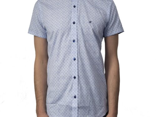 DAKHIN WHITE SHORTSLEEVE SHIRT