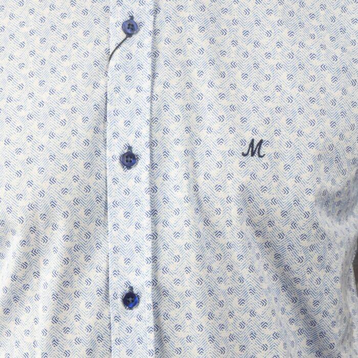 DAKHIN WHITE SHORTSLEEVE SHIRT