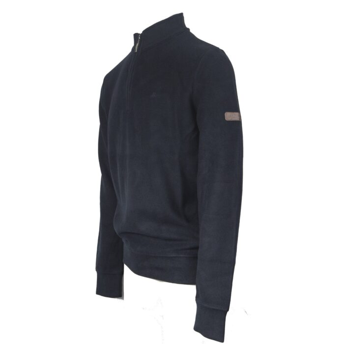 KENTUCKY NAVY HALF ZIP SWEAT