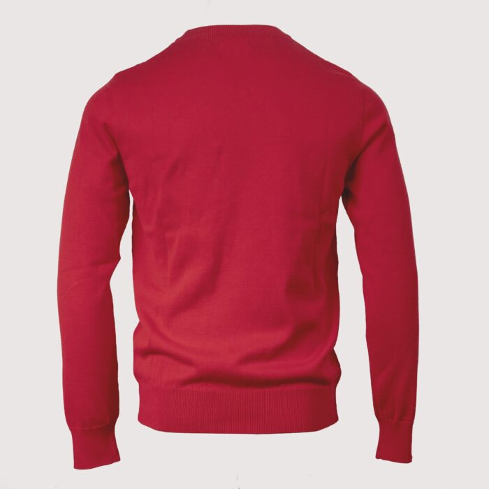 ARIANA RED CREW KNITWEAR