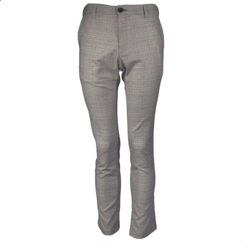 DENVER CHECK STRETCH CHINO