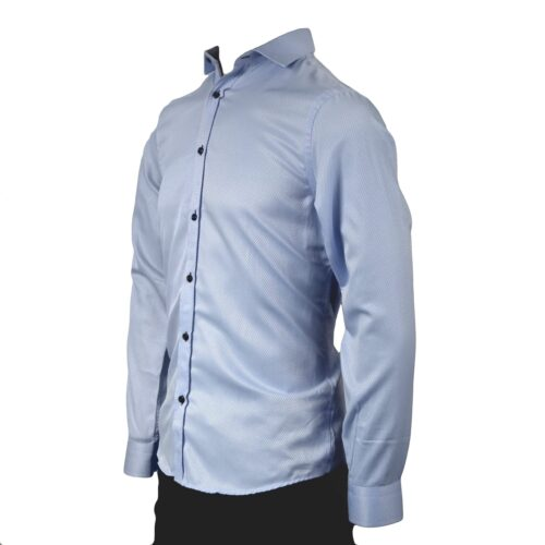 UNION SKY SELF PATTERN LONG SLEEVE SHIRT