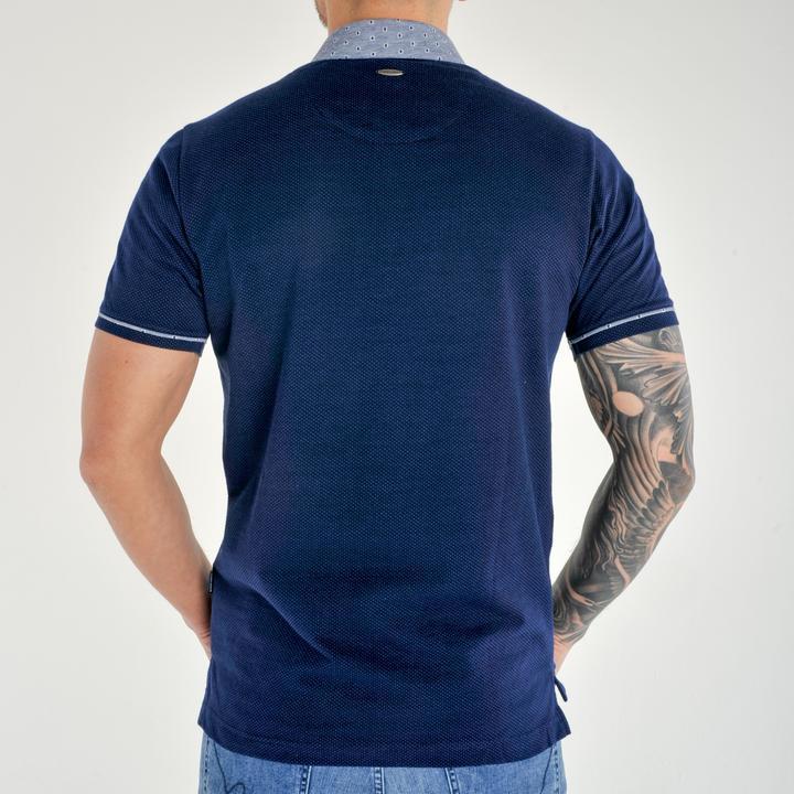 Sonet blue short sleeve polo
