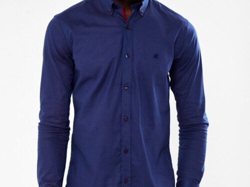 LONG SLEEVE SHIRT NAVY