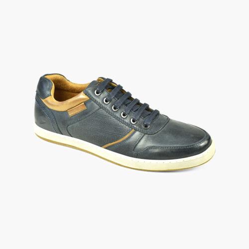 casual navy shoe