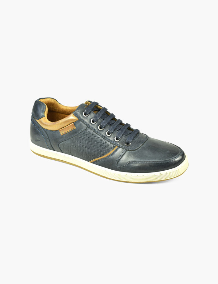 casual navy shoe