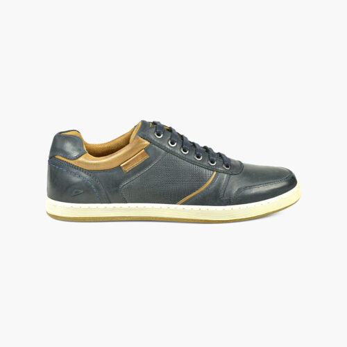 navy casual shoe
