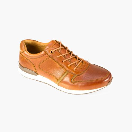 tan casual shoe